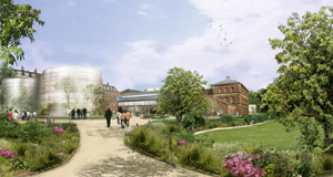 The new natural history museum will be gently placed within the botanical garden.The historical buildings will be preserved and will be interconnected through glass buildings and greenhouses, that elegantly unify the old and the new.